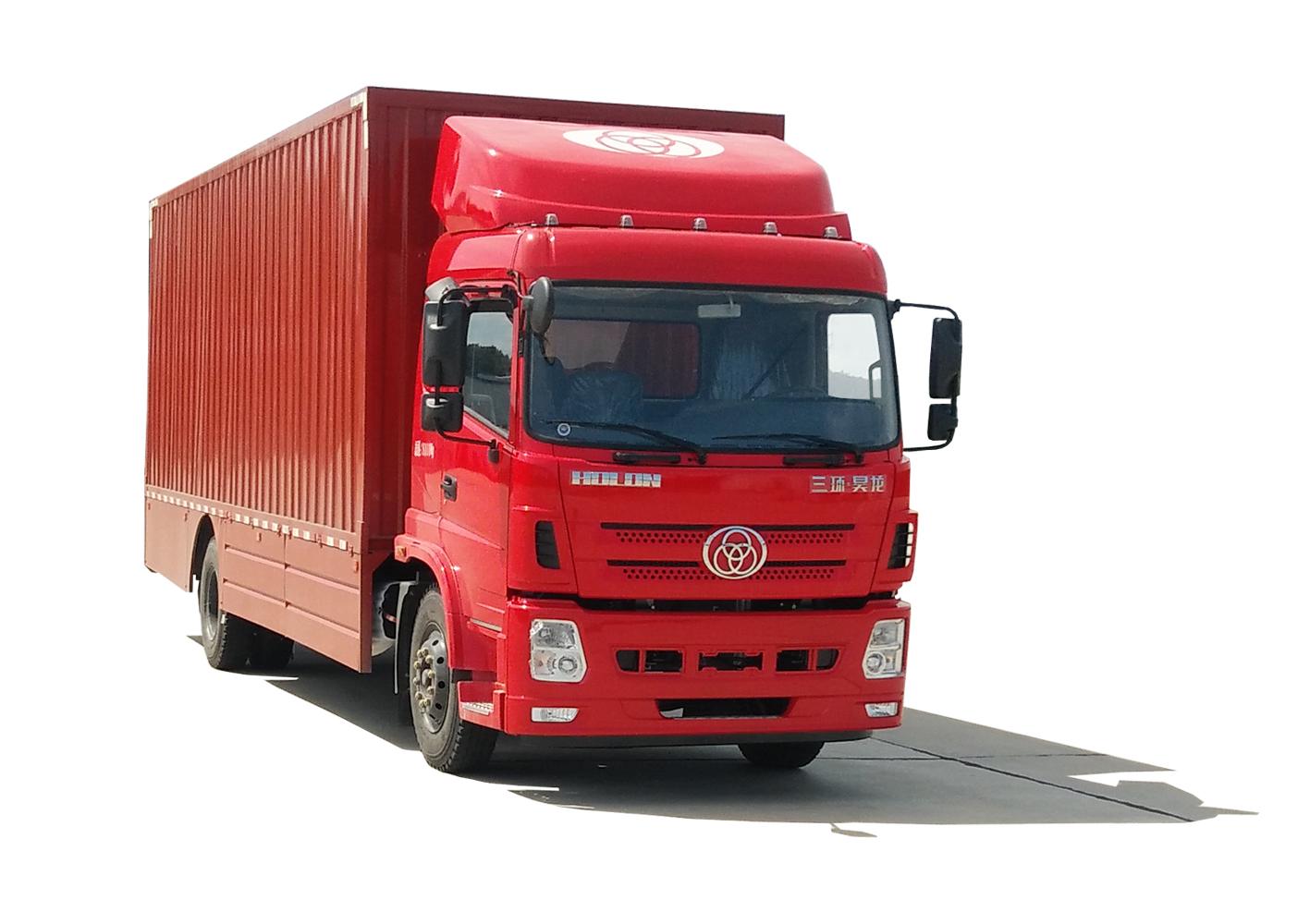 三环纯电动重卡汽车研发问世